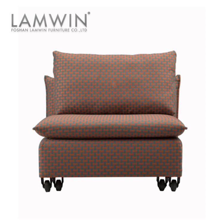 Home Use Futon Style Three Fold Single Chair Sofa Bed Mechanism Dubai
