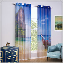 <span class=keywords><strong>Estate</strong></span> sole bay window valance con tende stampate