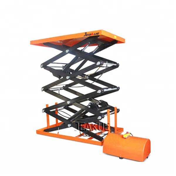 Capacity 400/800kg Electric Lifting Four Scissors Lift Table for Sale