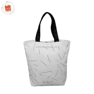 Environment-Friendly Excellent Quality Durable Blank Women Canvas Shopping Tote Bag For Women Hand Bags