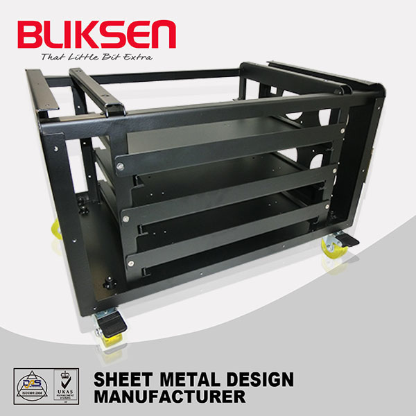 High- quality heavy duty stainless steel rolling tools box with powder coating
