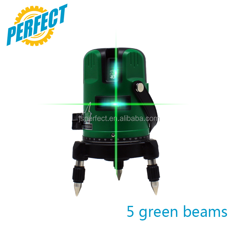 Buy automatic precision magnetic laser level 5 lines green prices