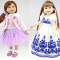NEW FULL Vinyl American 18 inch Girl Doll Collection Baby Alive Toys Handmade New Style Baby