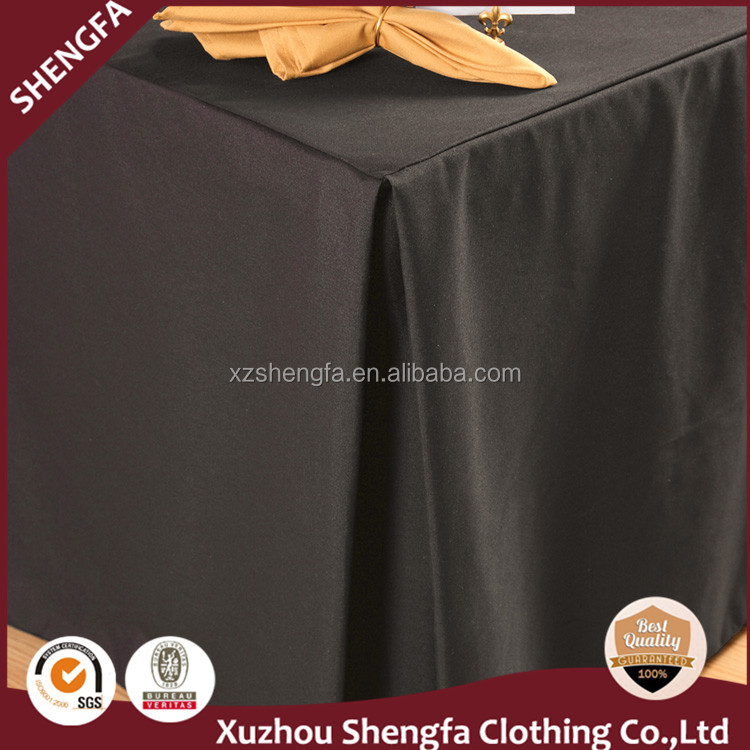100% polyester material full table cloth
