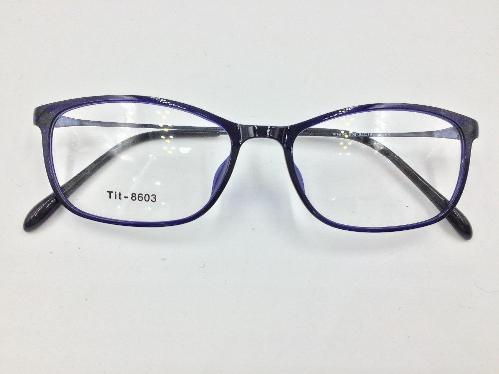 Ultra-fino moda armação de acetato, templos de metal armação de óculos  óptica quadros 68513c5872