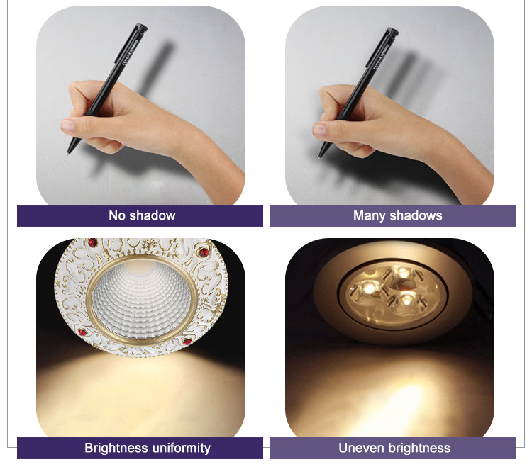 commercial illumination bathroom led downlights anti-dazzling white milky for customization-16