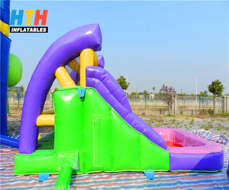 Inflatable Inground Pool Slide inflatable pool slide with climbing wall, inflatable pool slide