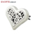 Wholesale 35mm 316LStainless steel Music pattern magnetic round aromatherapy essential oil Car diffuser locket pendant