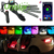 2018 best choice RGB muti-color RGBLEDStrip Remote ControlAtmosphereLamp 12V 12 Color DecorativeCar interior led lamp