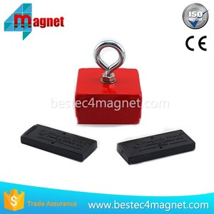 40 LBS Super Holding Magnet - Magnetic Plate Lifting Handle Tool