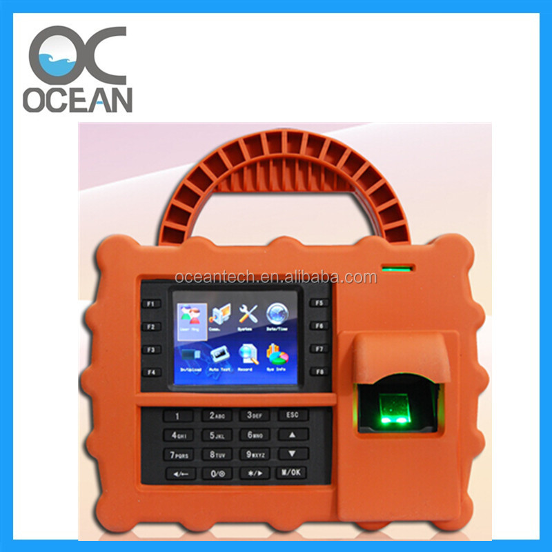 Waterproof Outdoor Biometric Time Attendance System With Fingerprint Verification