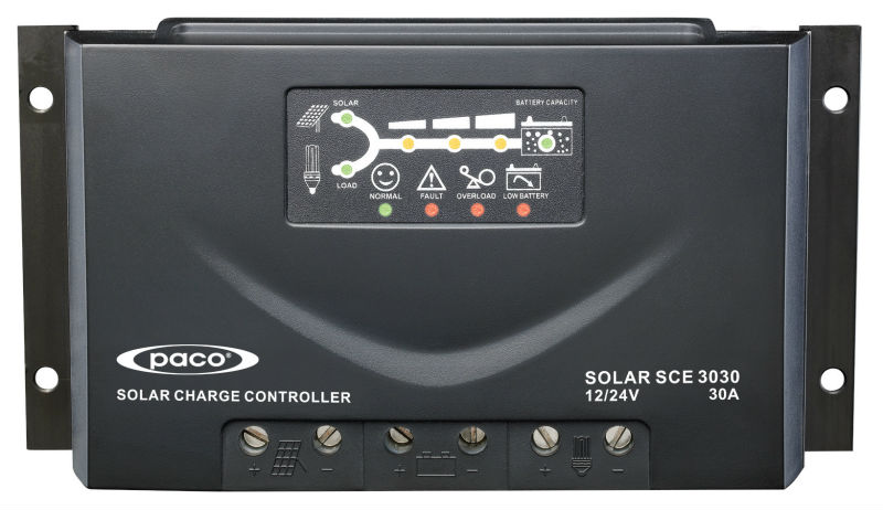Paco 12V / 24V solar charge controller for wholesale solar panels