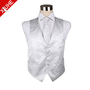 97c2ce4ee63 Polyester Men's Wedding Waistcoat And Cravat,Mens Formal Dress - Buy ...