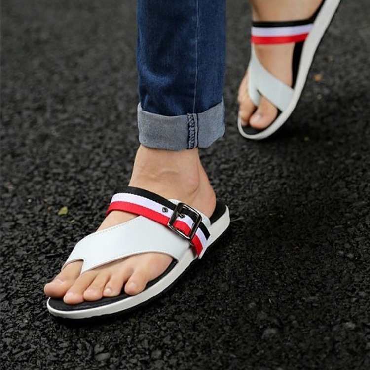 2014 New Summer casual men's thong sandals sandals fashion ...