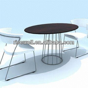 compact dining table set white black table top