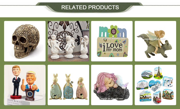 Best selling congratulations gift handmade  home decoration resin indoor decorative statue