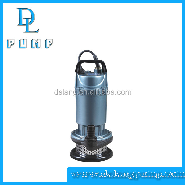 QDX1.5-32-0.75F Dalang copper wire agriculture using electric water submersible pump