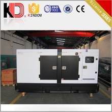 Electric power plant silent diesel 100kw 125kva generator