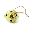 Newest gold christmas party hanging bell christmas tree decoration items