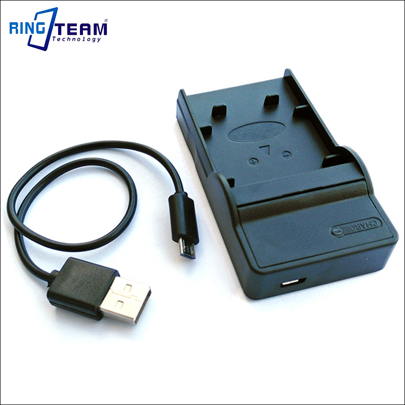 Cámara de batería cargador Micro USB para Nikon Coolpix en-el10