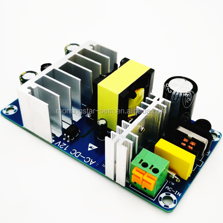 ACDC to 12V Switch Power Supply Board Module High Efficiency Full Power