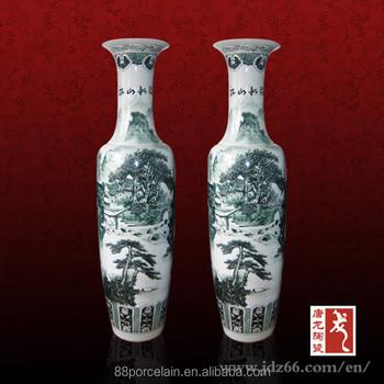 Customsized Vase Suppliers Chinese Porcelain Large Floor 6ft Vase