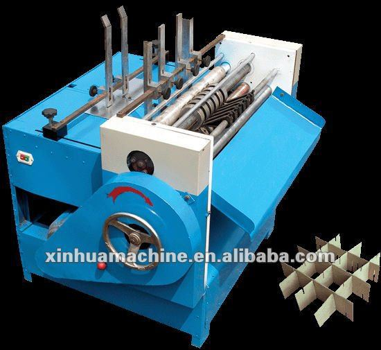 cangzhou Clapboard machine for corrugated box / corrugated carton box partition machine price