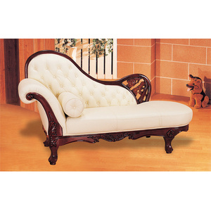 Queen A Guangdong Foshan European Style Leather Sofa Classic Design Chaise
