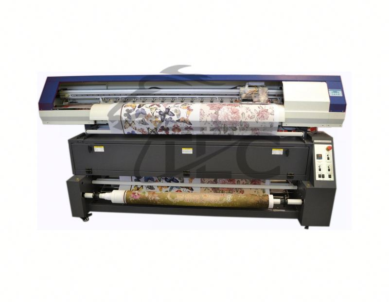 roll to roll textile printer digital cotton textile printer Leyenda-2500T3 2.5m with seiko head and heater 1440dpi