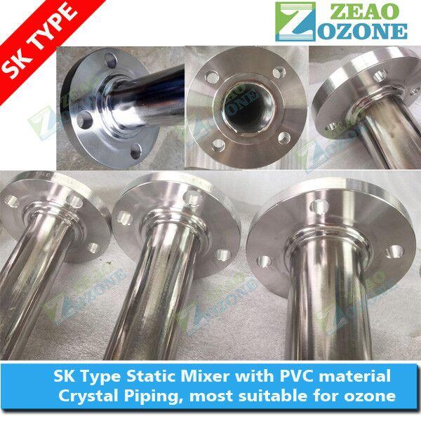 Pvc Ozone Inline Static Mixer Gas Liquid Mixing Machinery Oxygen Cone - Buy  Static Mixer,Pvc Ozone Inline Static Mixer,Gas Liquid Mixing Machinery