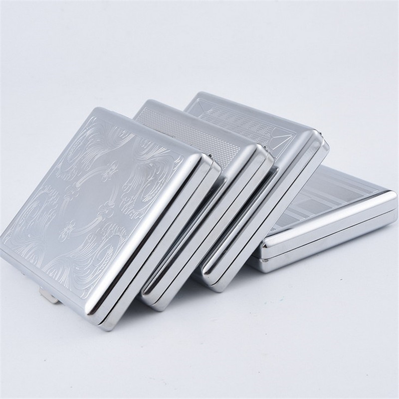 Wholesale Make Your Own Metal Cigarette Cases for Promotion Gift