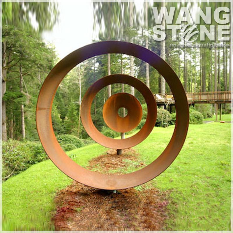 Large Corten Steel Contemporary Garden Art Sculpture. Large Corten Steel Contemporary Garden Art Sculpture   Buy