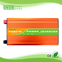high frequency off grid tie 6000W power solar pump inverter for system home