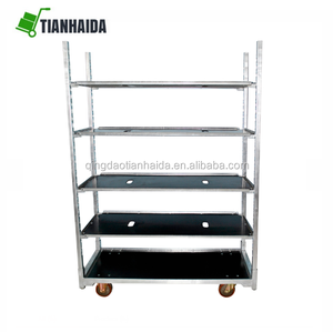 Chinese Supplier High Quality dutch flower trolley and pot trolley