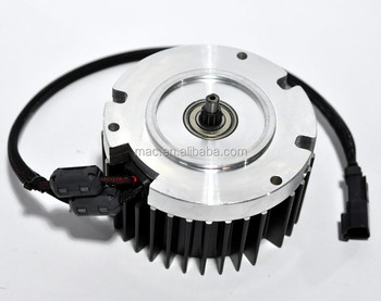 brushless DC electric water pump motor geared motor