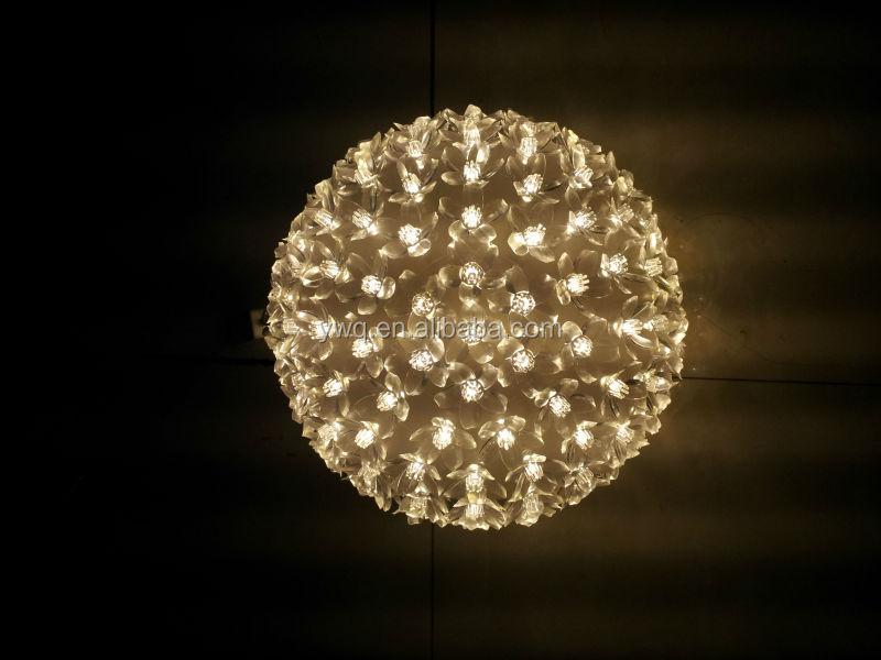 Light up christmas balls led flower ball light 50led magic ball light up christmas balls led flower ball light 50led magic ball light aloadofball Images