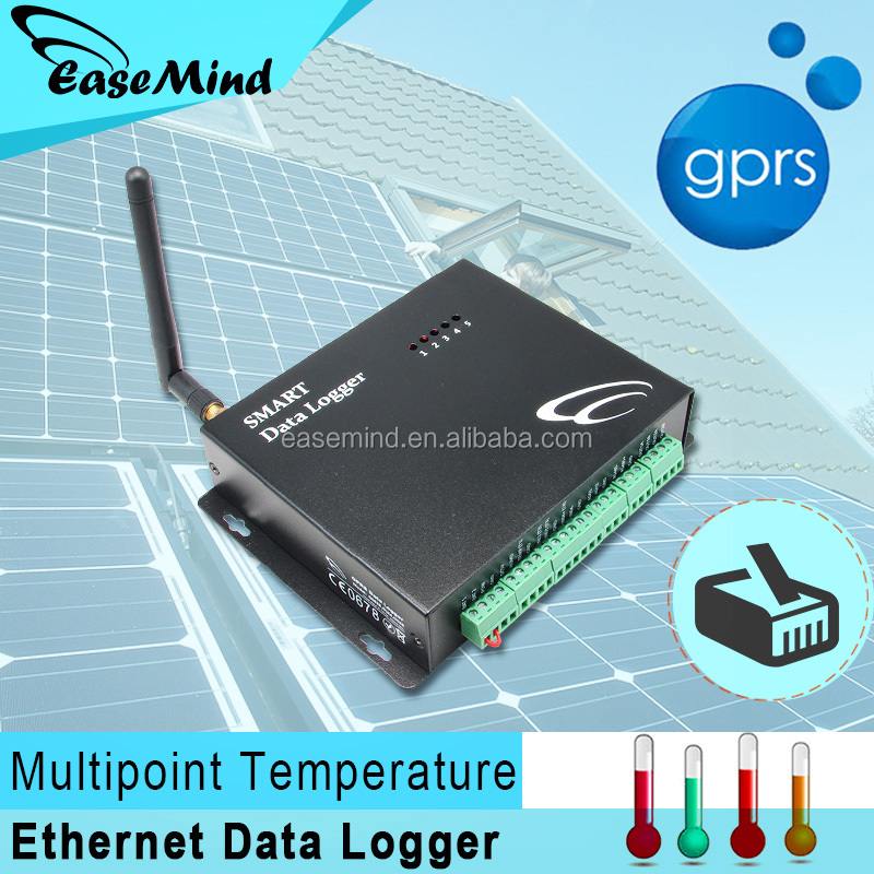 Wireless & Ethernet Multipoint Temperature Data Logger with extra sensor