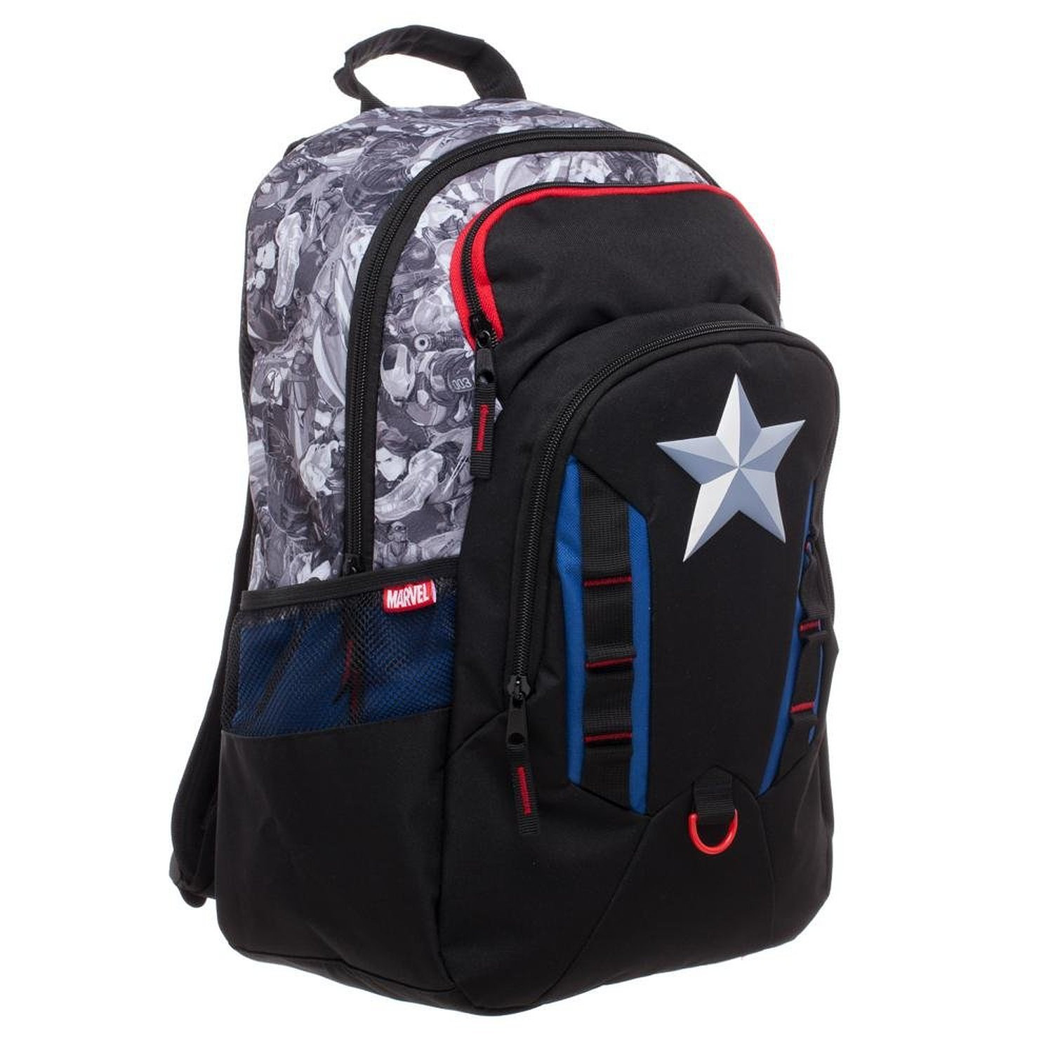 bc847db5a868 Get Quotations · Captain America Civil War Bookbag Backpack Licensed New Marvel  Avengers
