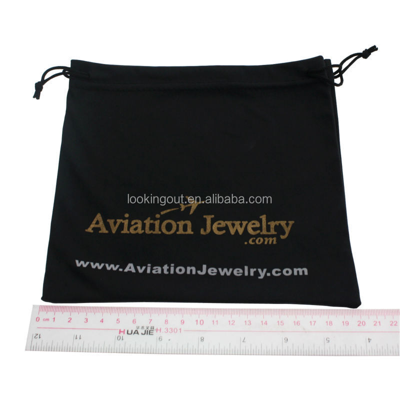 custom brand printing jewellry carry bags for promotional