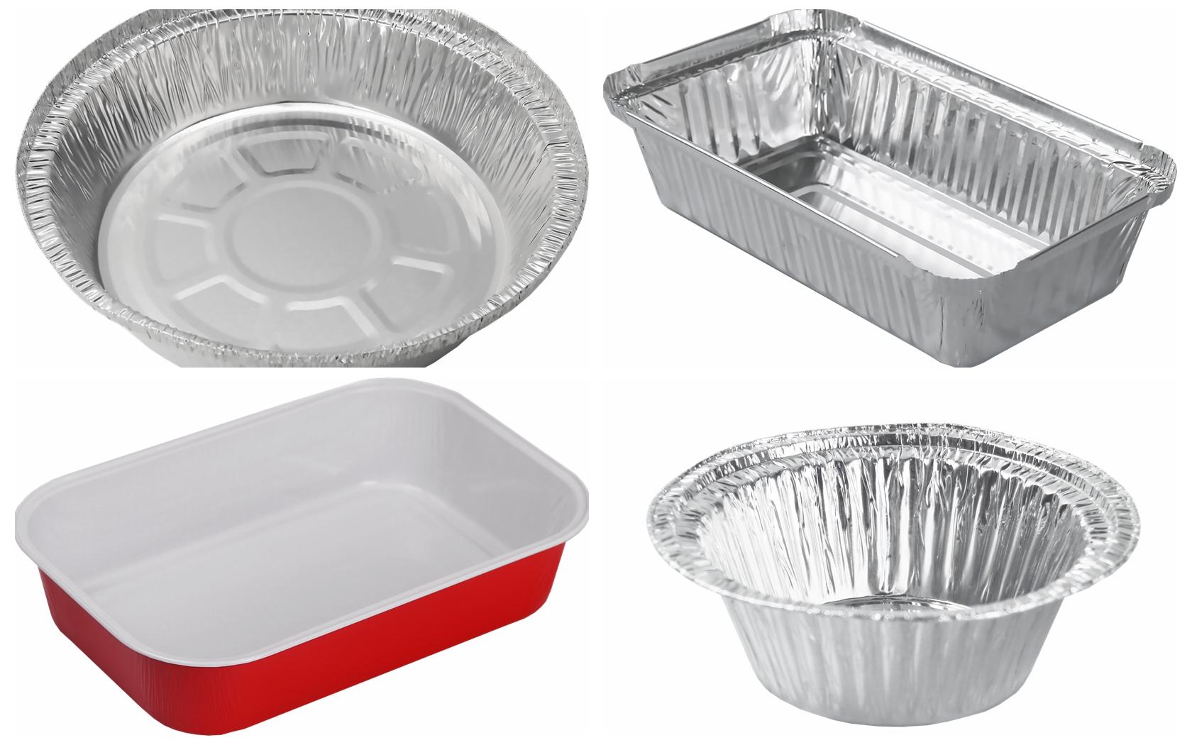 aluminum foil tray for cake baking