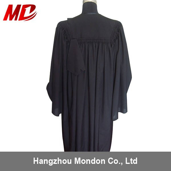 Best Seller Customized Judge Robes Black Wholesale