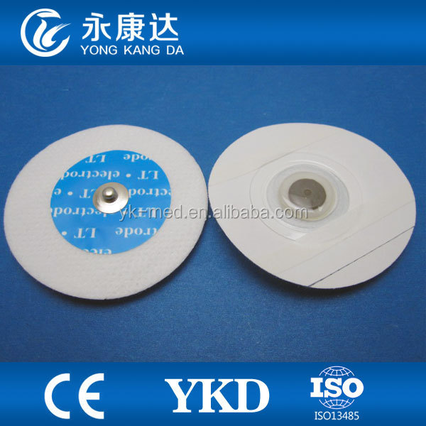 1 bag=50pcs !Disposable Adult Conductive Electrode Pads for ECG machine and Patient Monitor Medical Device Message Pad