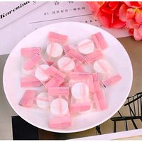 Cosmetic Brand Private Label Beauty Face Mask Disposable Organic Cotton Tablet Diy Sheet Compressed Facial Mask