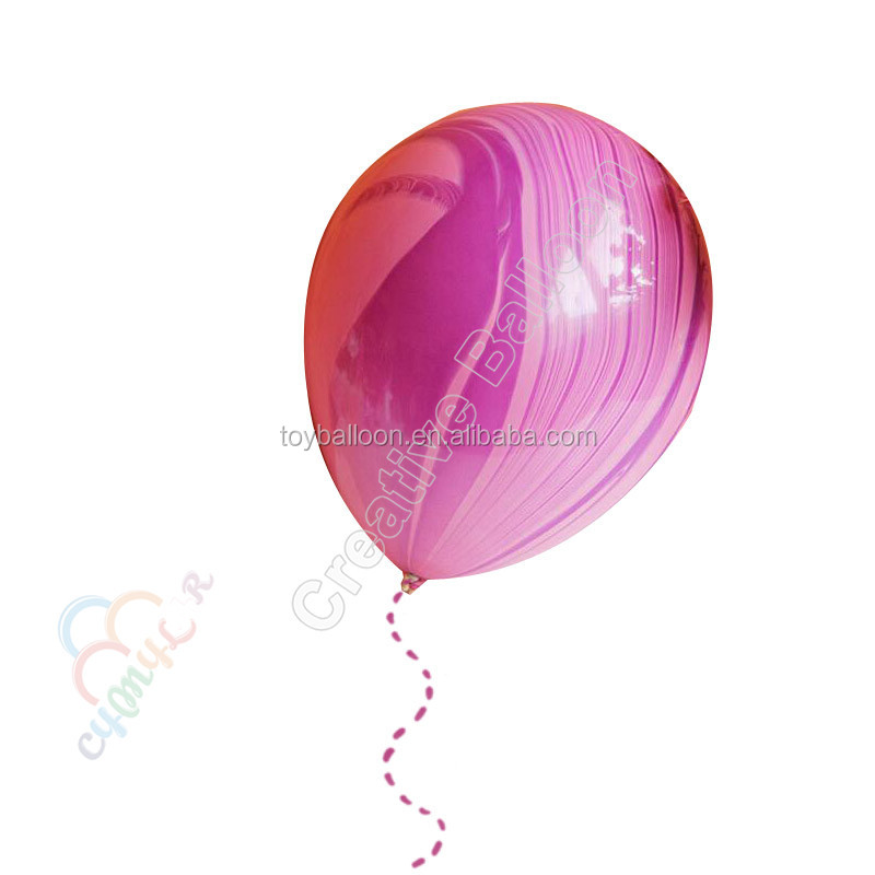 High Quality Latex Balloon Wholesale green marbling latex balloons