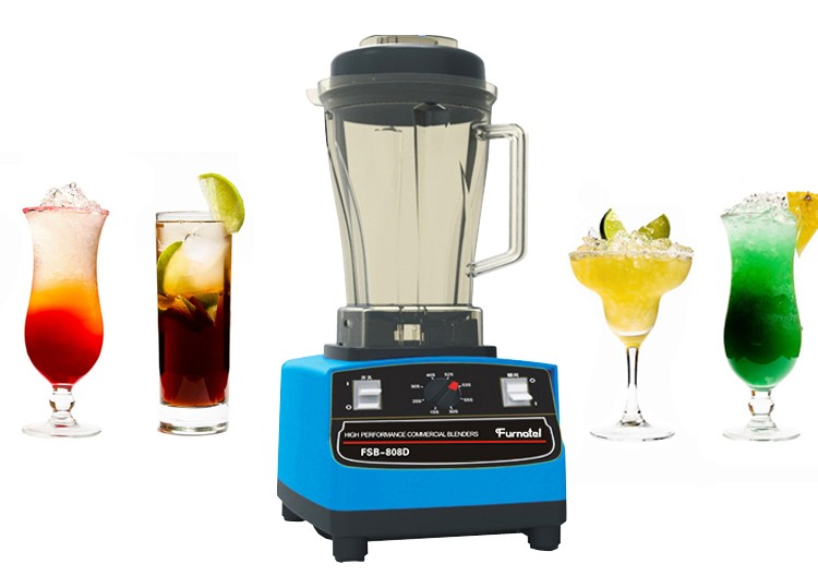 Furnotel 2L Mute Juice Extractor Smoothie Blender