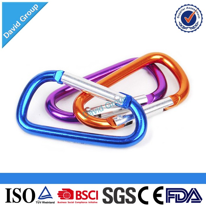 Customized Logo Printing Aluminum Mommy Hook With Sponge, Aluminum Large Mommy Hook, Big Aluminum Snap Carabiner