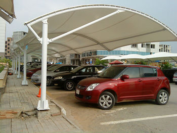Car Parking Canopies View Tensile Fabric Car Parking Shade