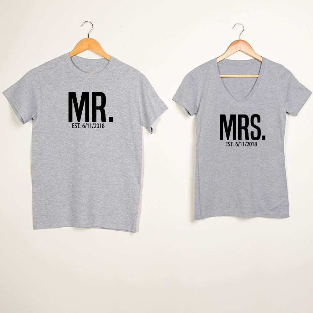 5df7b5547 Get Quotations · Cute Hubby and Wifey Couple Shirts ,Cute Hubby and Wifey Couple  Shirts ,Couples shirts