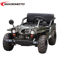 CDI Ignition mode petrol rc army mini jeep for kids