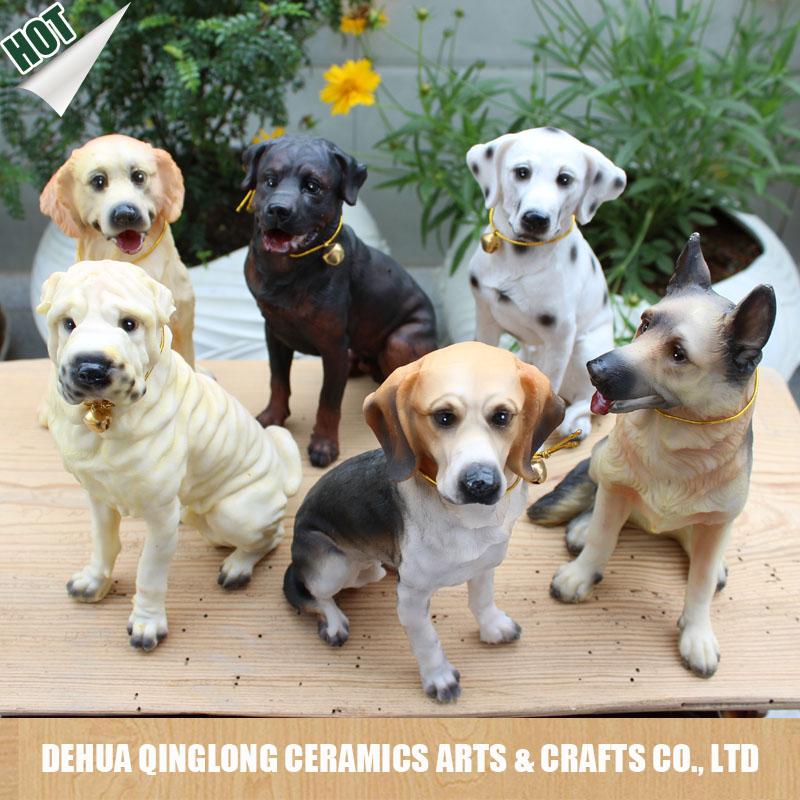 Grossiste animaux ceramique jardin acheter les meilleurs for Decoration chien resine